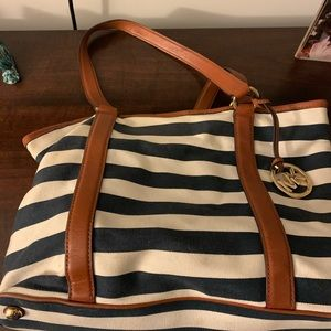 Michael Korea's Striped Tote